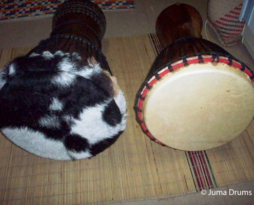 Djembe drum repair