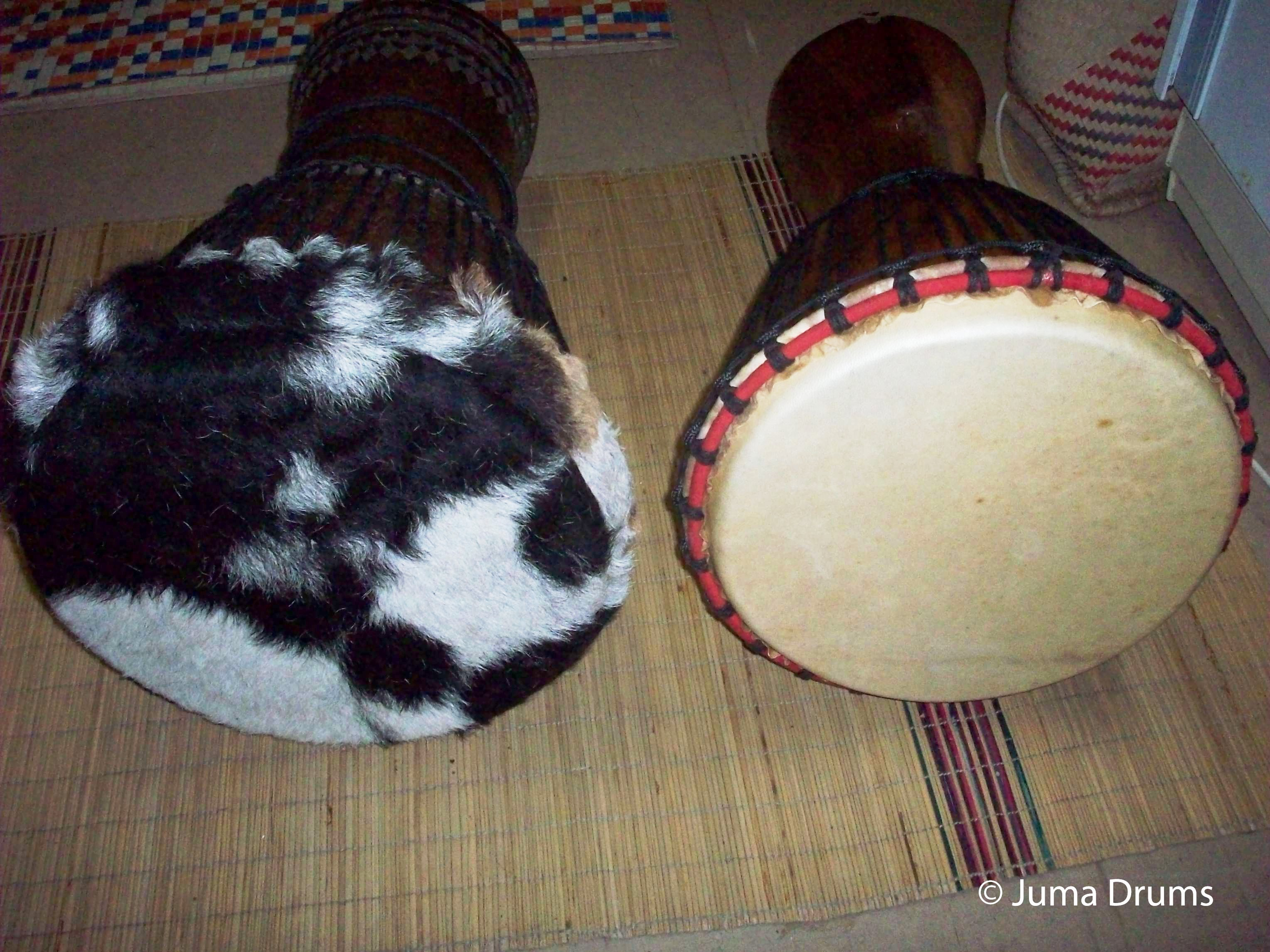 Djembe drum repair