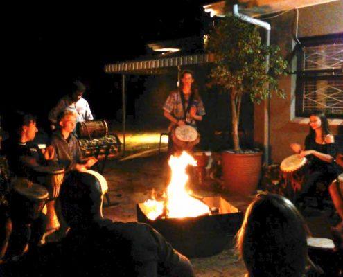 Fun drumming